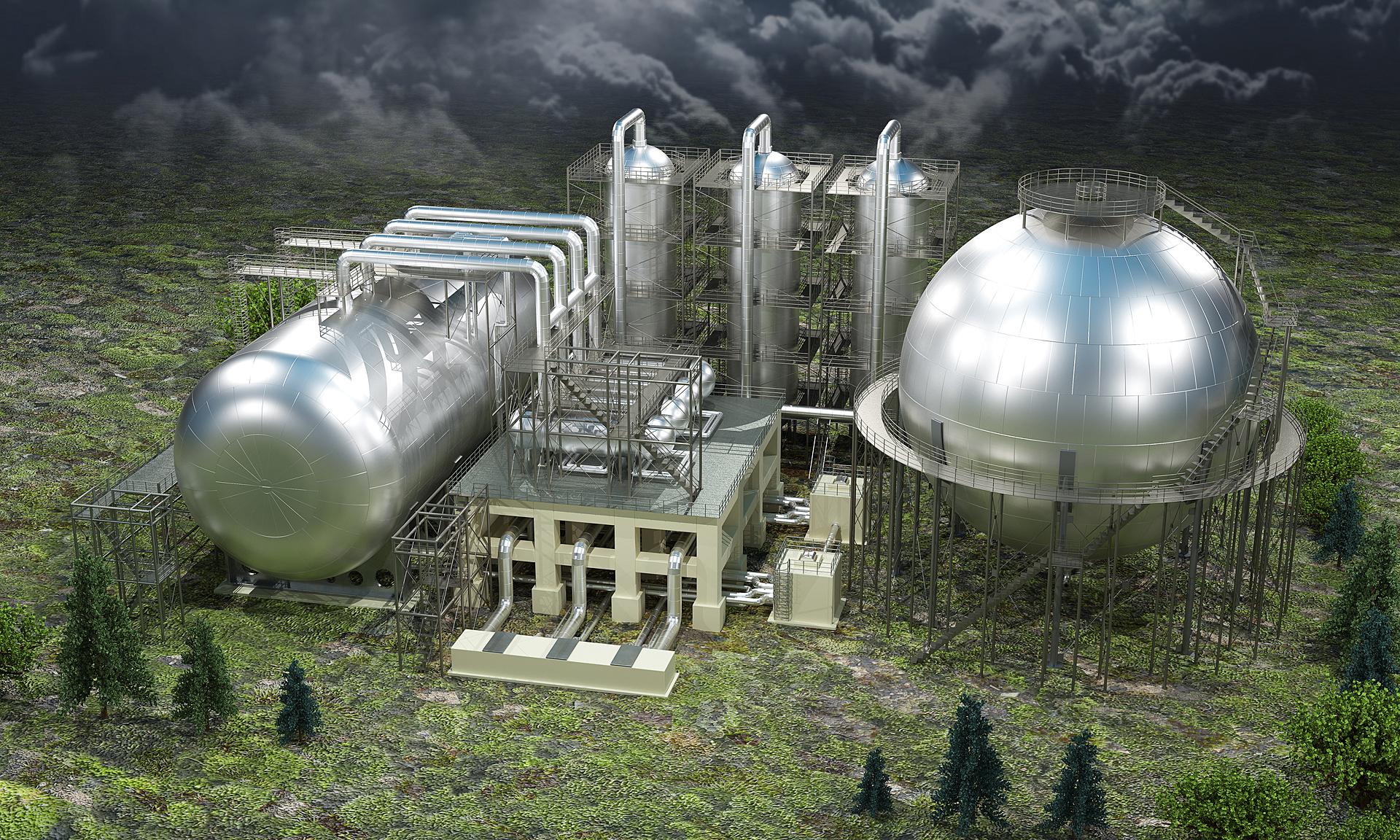 Завод по переработке и хранению нефтепродуктов_строение с БСК_01