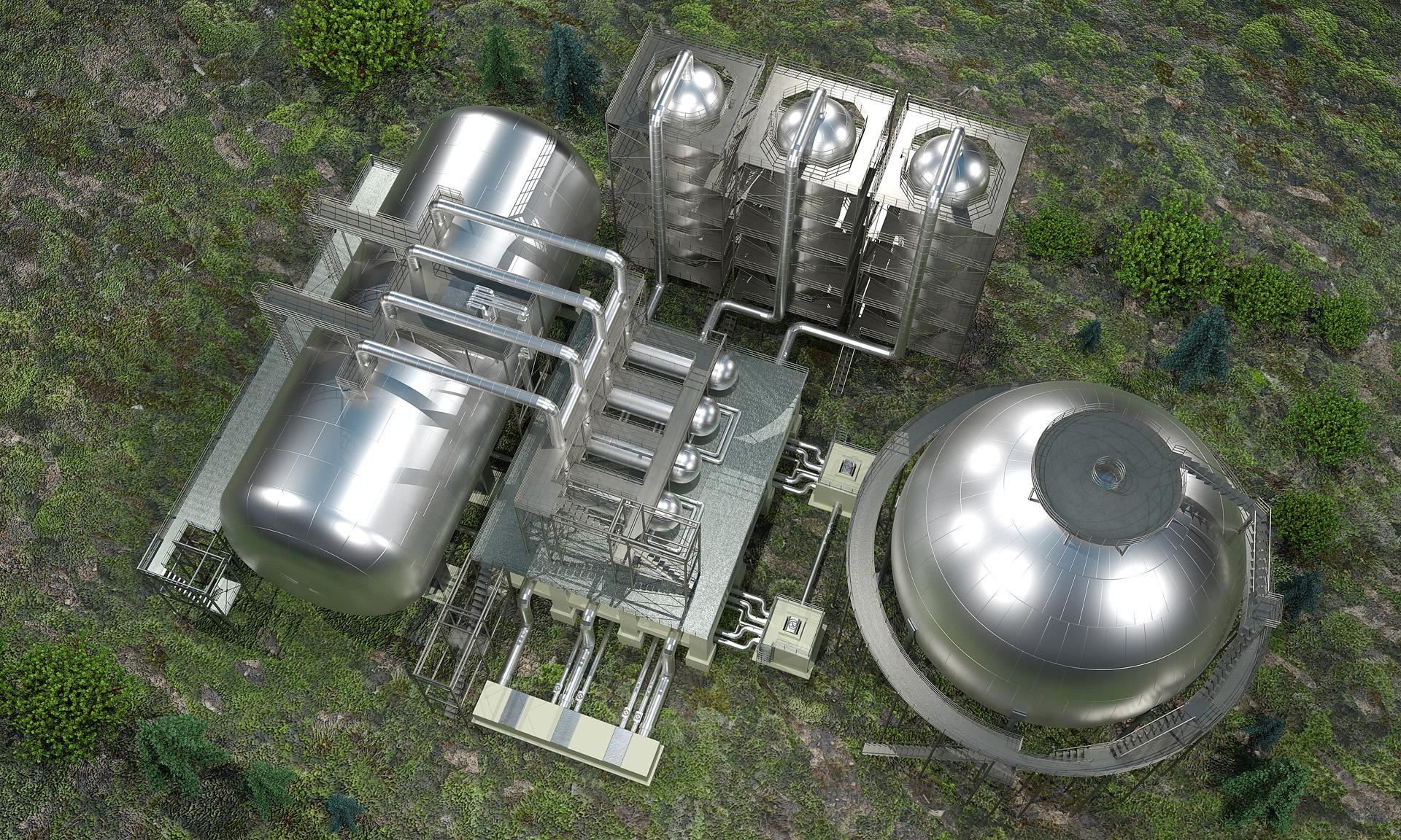 Завод по переработке и хранению нефтепродуктов_строение с БСК_034