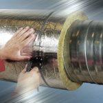 Утепление труб водоснабжения цилиндрами PIPEWOOL при конденсате