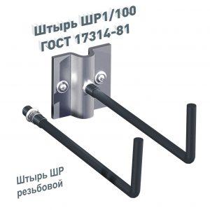 Штырь ШР1-100 ГОСТ 17314-81 ШР