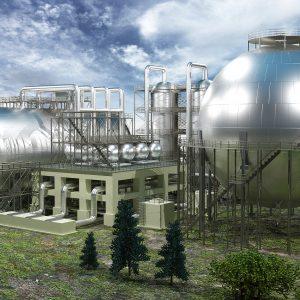 Завод по переработке и хранению нефтепродуктов_строение с БСК_032